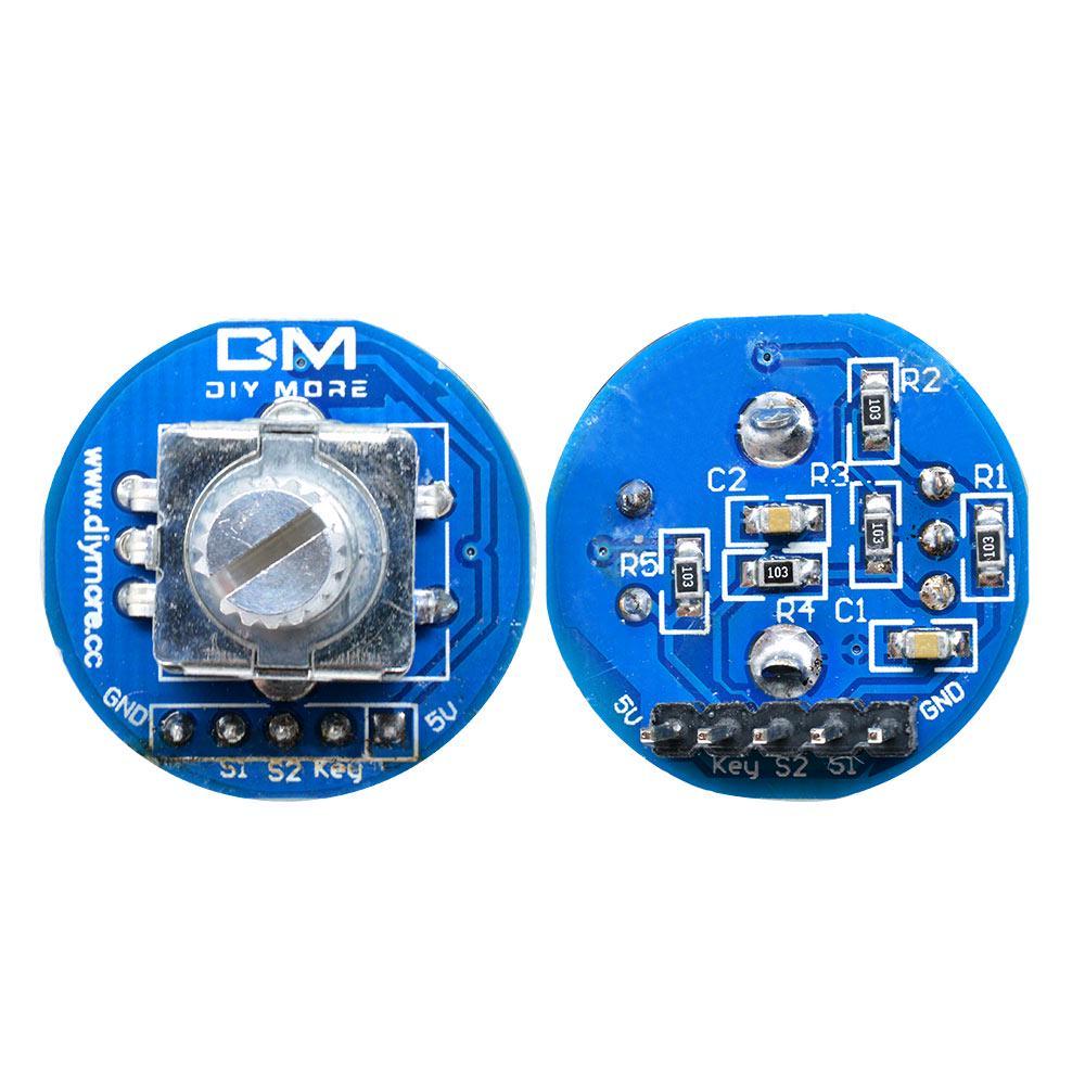 Rotary Encoder Rotating Potentiometer Arduino 5V Knob Cap Digital Control Module