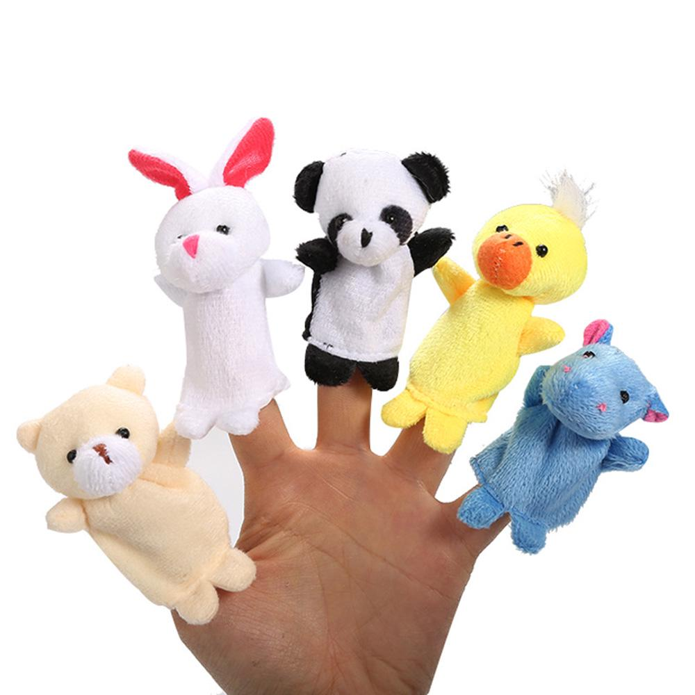 Variety Animal Optional Finger Puppets//Plush Toys Baby Child Hand Glove Toys 1PC