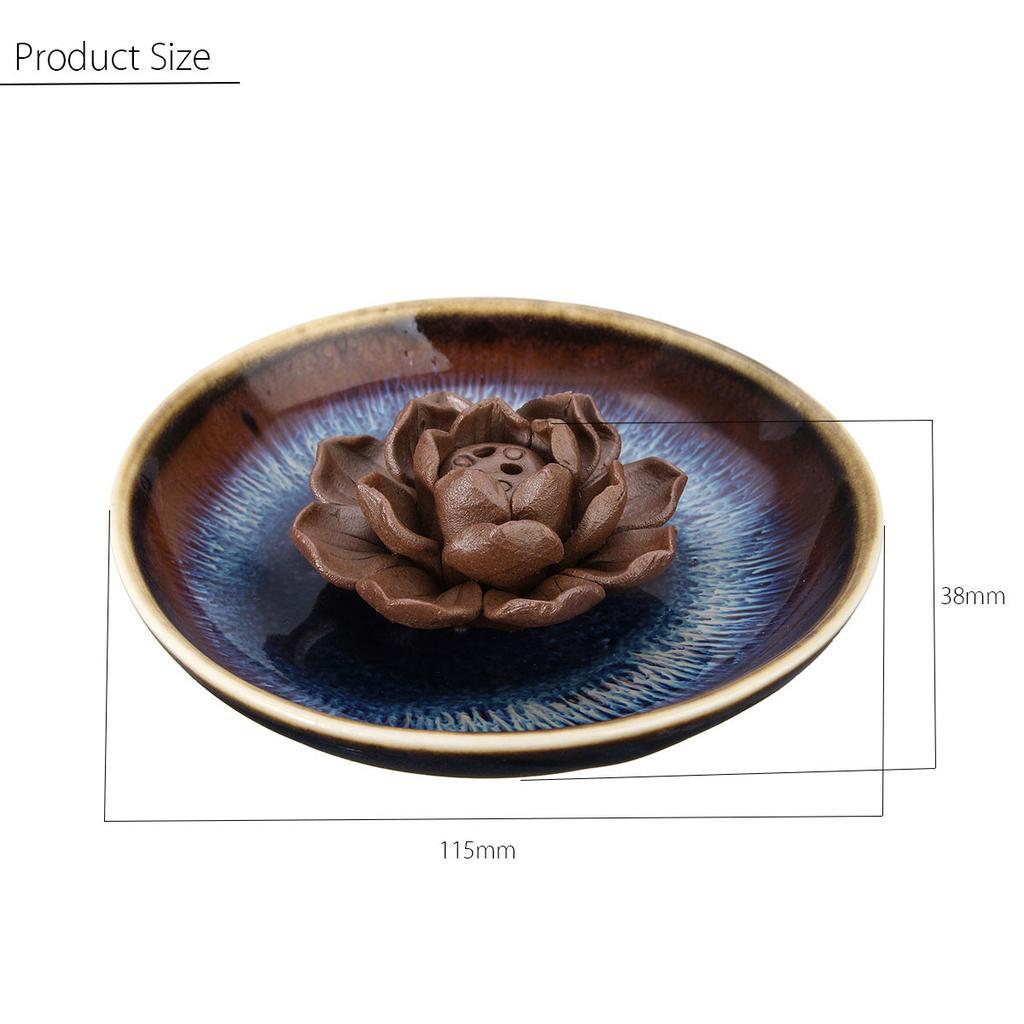 Details about  /Vintage Lotus Shape Alloy Incense Burner Censer Holder Tool Home Decoration Hot