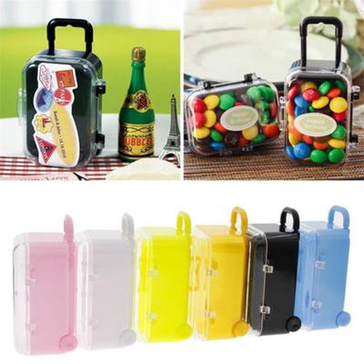 Wedding Favor Candy Box Mini Suitcase Party Decoration Bridal Baby Shower G