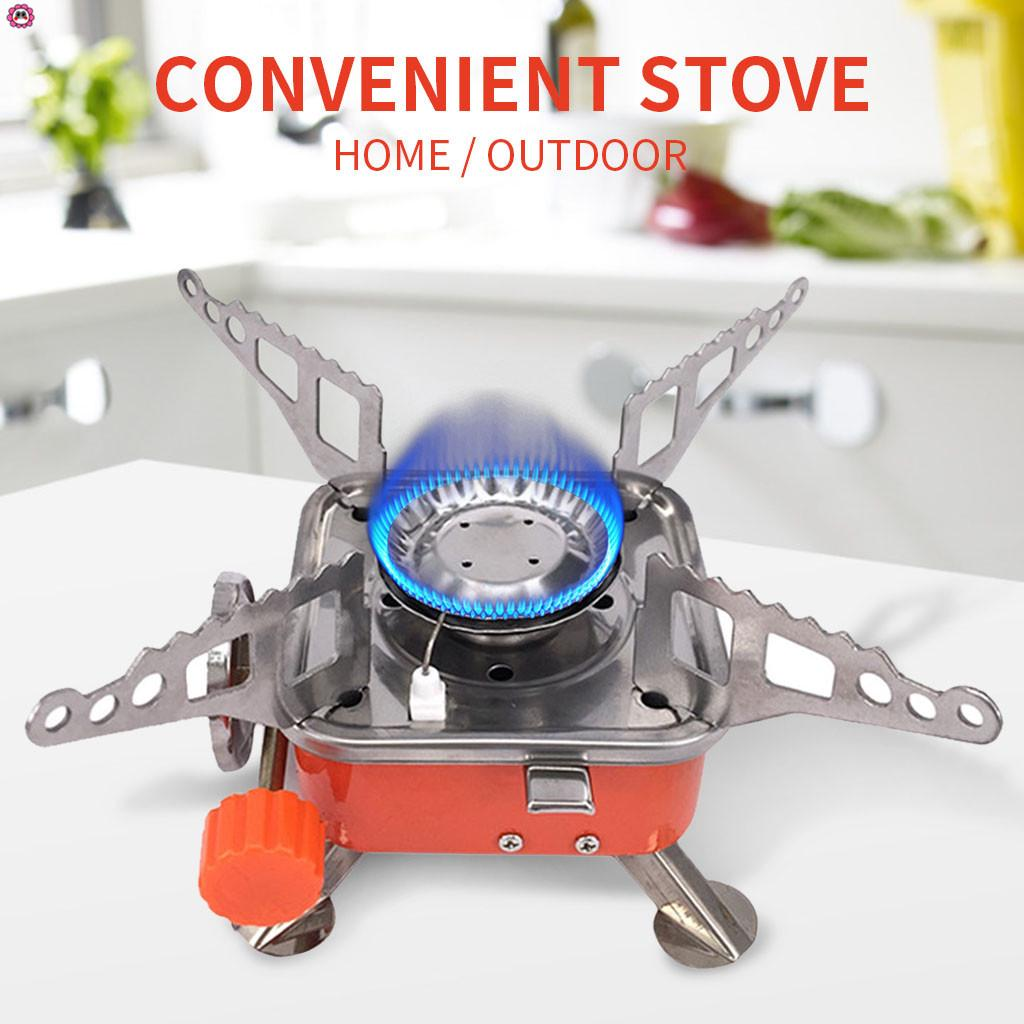 Burner Cookware Stove Camping Stove Gas Picnic Outdoor BBQ Hiking Backpacking T
