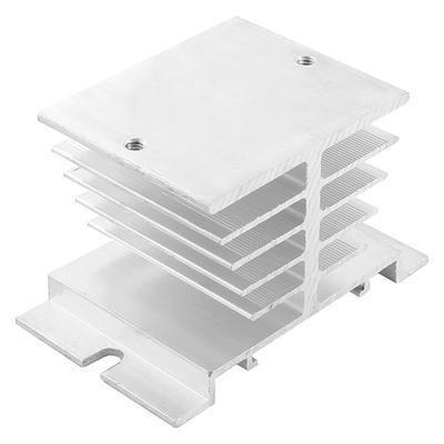 SSR Dissipation Solid State Relay Heatsink Three Phase Aluminum Alloy Heat Sink