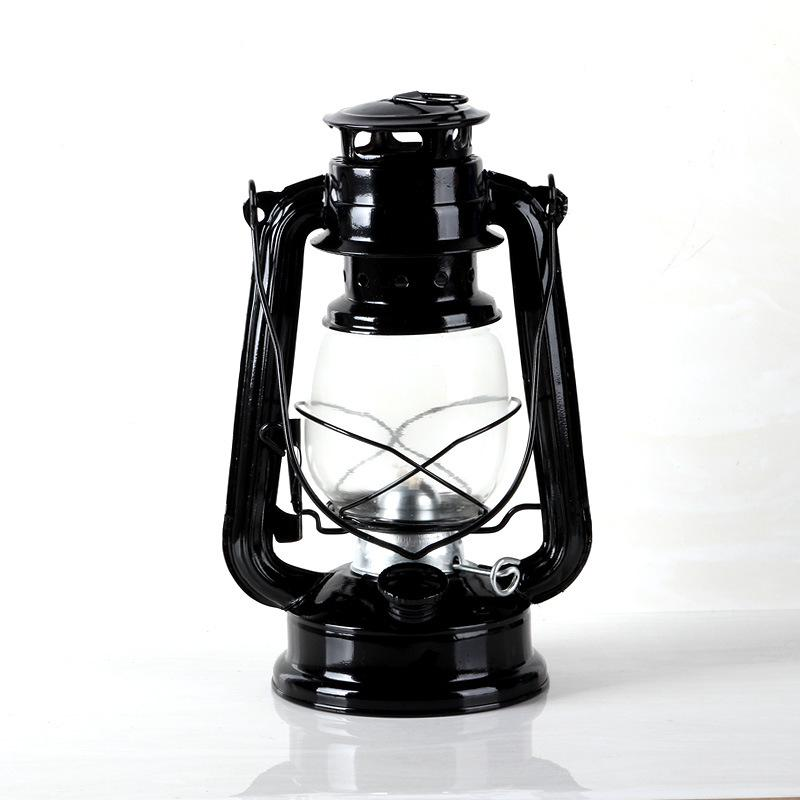 1:6th Scale Black Kerosene Lantern
