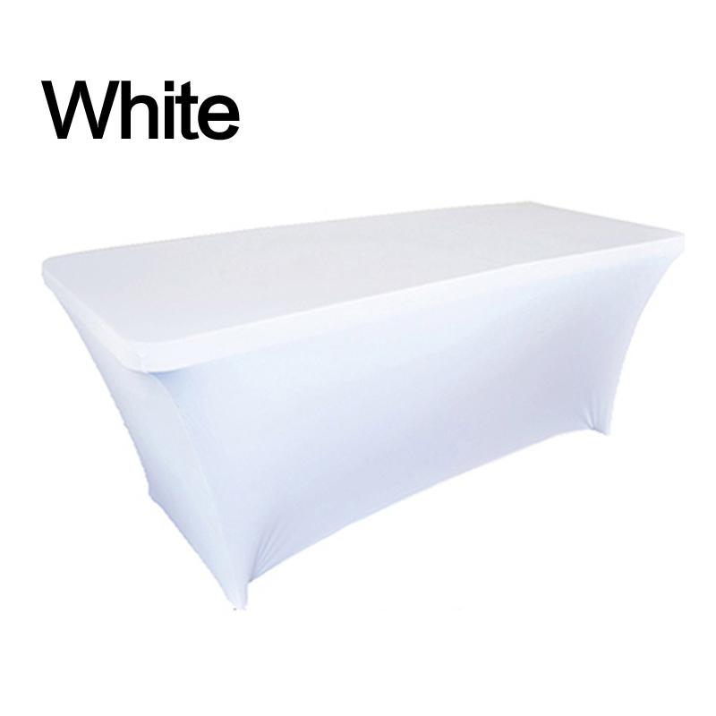 Elastic Table Cover Rectangular Spandex Tablecloth Stretch Home Decor 4FT 6FT