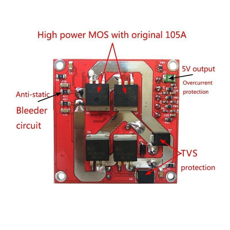 059adc1553a NUEVO 6-36V 15A alta potencia DC controlador de Motor Junta PWM ...