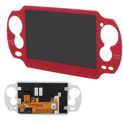 Red ABS LCD Screen Display Replacement Parts for Playstation