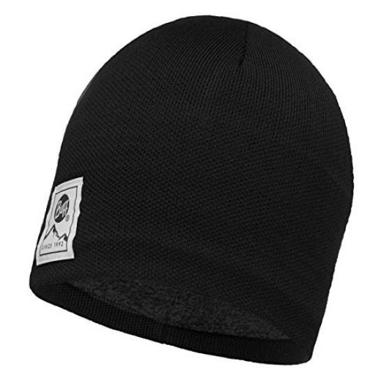 Buff Unisex Adult 116032.632.10.00 KNITTED /& POLAR HAT LYNE MAROON One Size