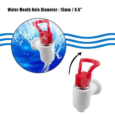 Plastic Water Dispenser Machine Faucet Tap 2 Pcs Red Blue White-buy