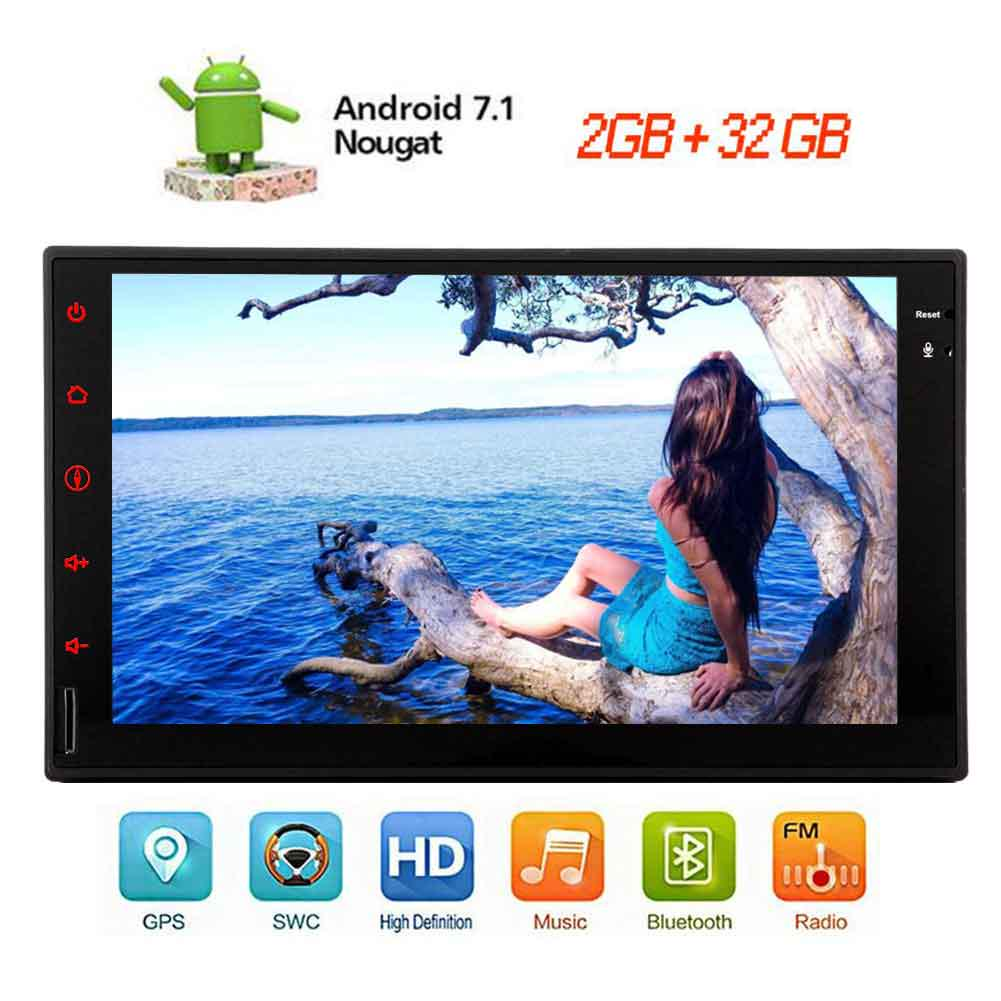 Android Stereo Octa Core 7 1 System Car No Dvd Player 7inch 1024 600 Touchscreen In Dash Autoradio