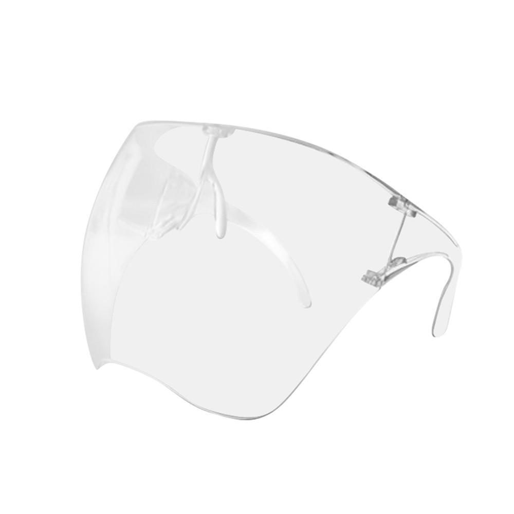 Details about  /Outdoor protective transparent face-shield anti-fog Reusable Washable wholesale~