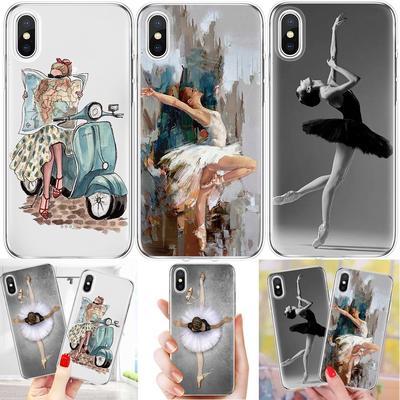 cover samsung a5 2017 ballerina
