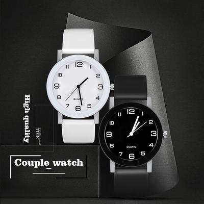 Women's Fashion Simple  Leather Clock Watches Women Dress Casual Analog Quartz Wristwatch