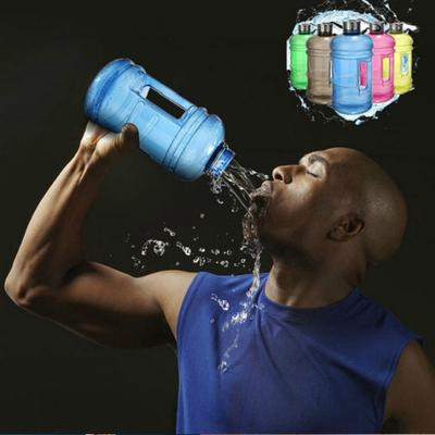 2.2L Large Big BPA Free Sport Gym Training Drink Water Bottle Cap Kettle