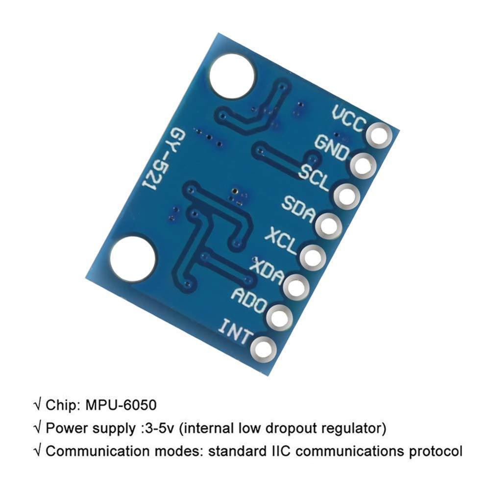 Aokin GY-521 MPU-6050 MPU6050 Module 6 DOF 3 Axis Accelerometer Gyroscope Se...