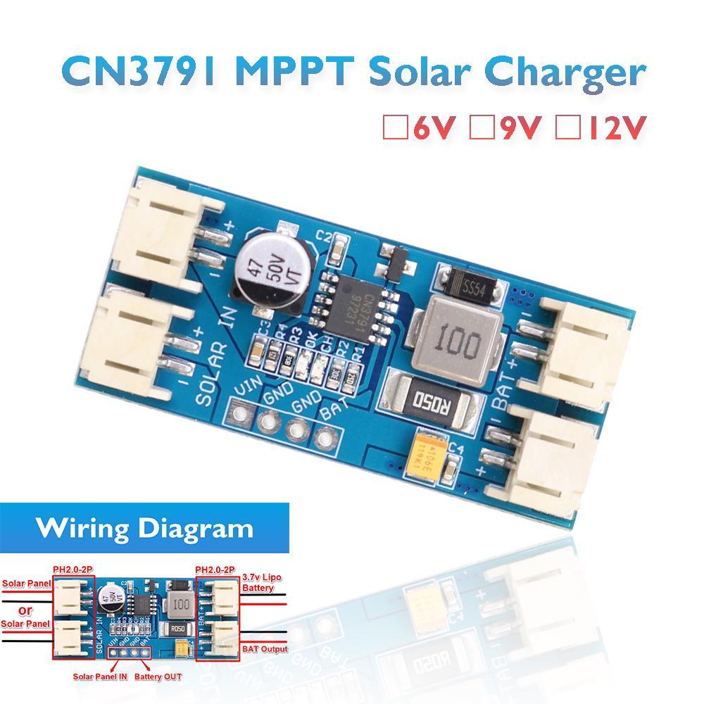 MPPT Management Module Solar Panel 6V~24V Power Supply Board Regulated Charger