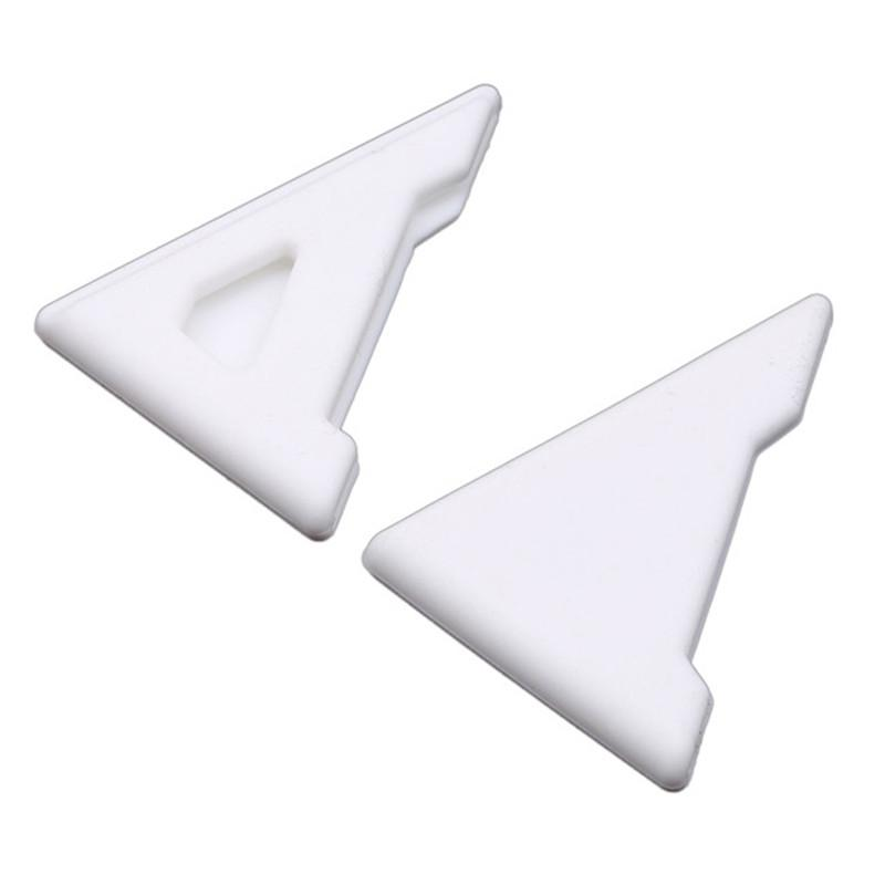 Color: Black Styling Mouldings 2Pcs Styling Mouldings Silicone Auto Care Scratch Protector Car Door Corner Cover Anti-Scratch Crash Protection Car-Styling