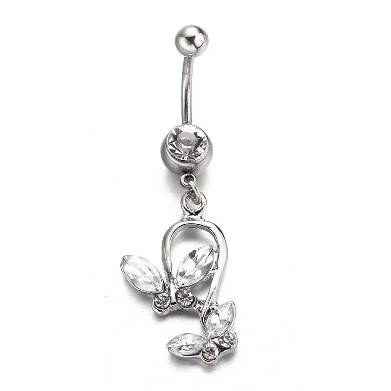 Belly Button Ring Schmetterling Körper Schmuck Piercing Bauchnabel Piercing Piercing Nombril Weihnachten Günstig Im Onlineshop Von Joom Kaufen