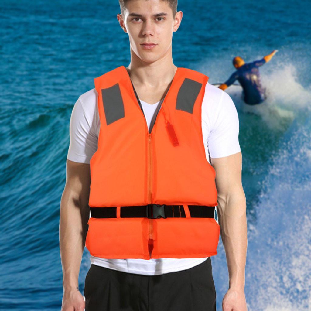 Adults//Kids Life Jacket Aid Vest Kayak Ski Buoyancy Fishing Sail Boat Watersport
