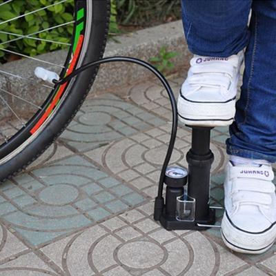 Ultra-light MTB Road Bike Pump Portable Cycling Air Inflator Foot Pump High Pressure Bicycle Tire Pump