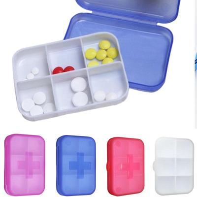 Plastic Multi lattice Medicine Pills Jewelry Earrings Beads Storage
