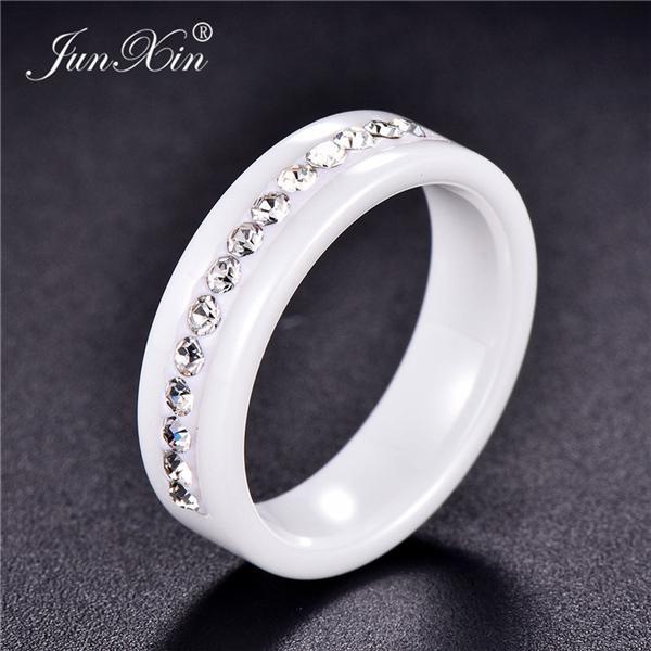 3 Color Small Flower Pattern Fashion Women Jewelry Wedding Ring Size 6-10 LG