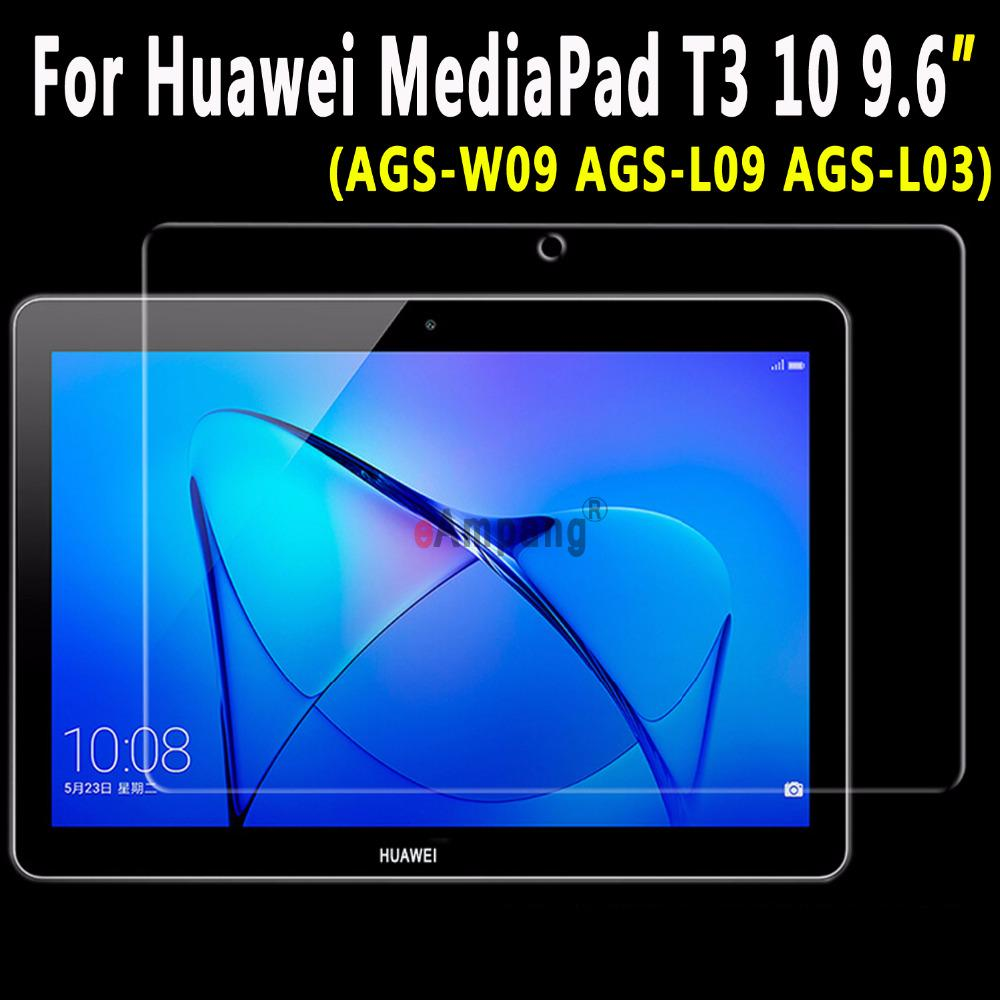 High Clear Soft Anti-fingerprint Screen Film Protector For 9.6 Huawei Mediapad T3 10 Ags-l09 Ags-l03 Ags-w09 At All Costs Tablet Screen Protectors