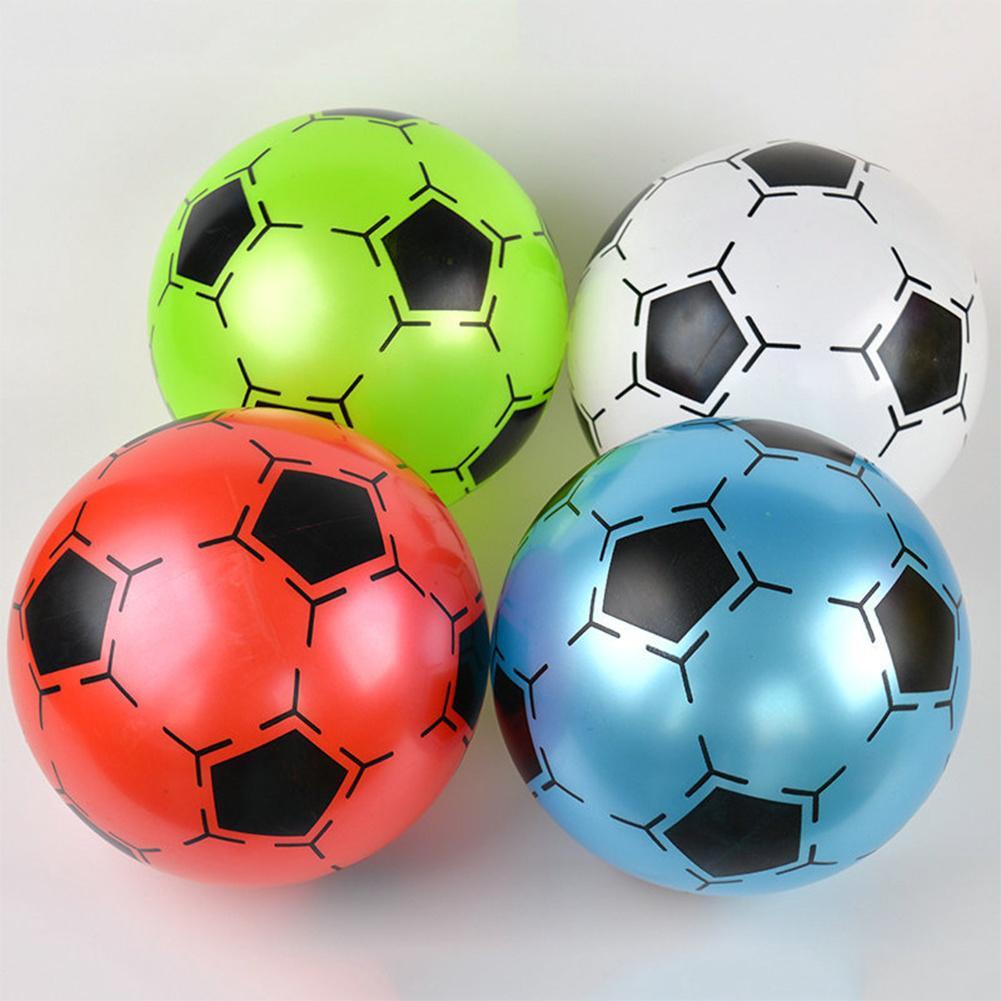 9 pulgadas niños inflable del fútbol del PVC juguete fútbol forma de ... 4f7fac9d298c5