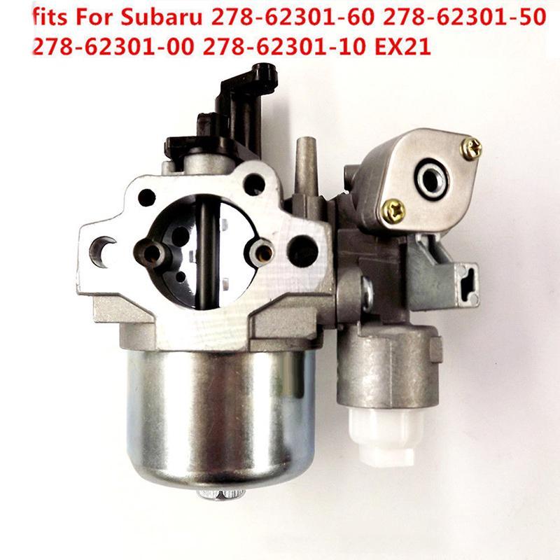 Carburetor for Robin Subaru EX21 Overhead Cam Engine Replacement 278-62301-50 278-62301-60