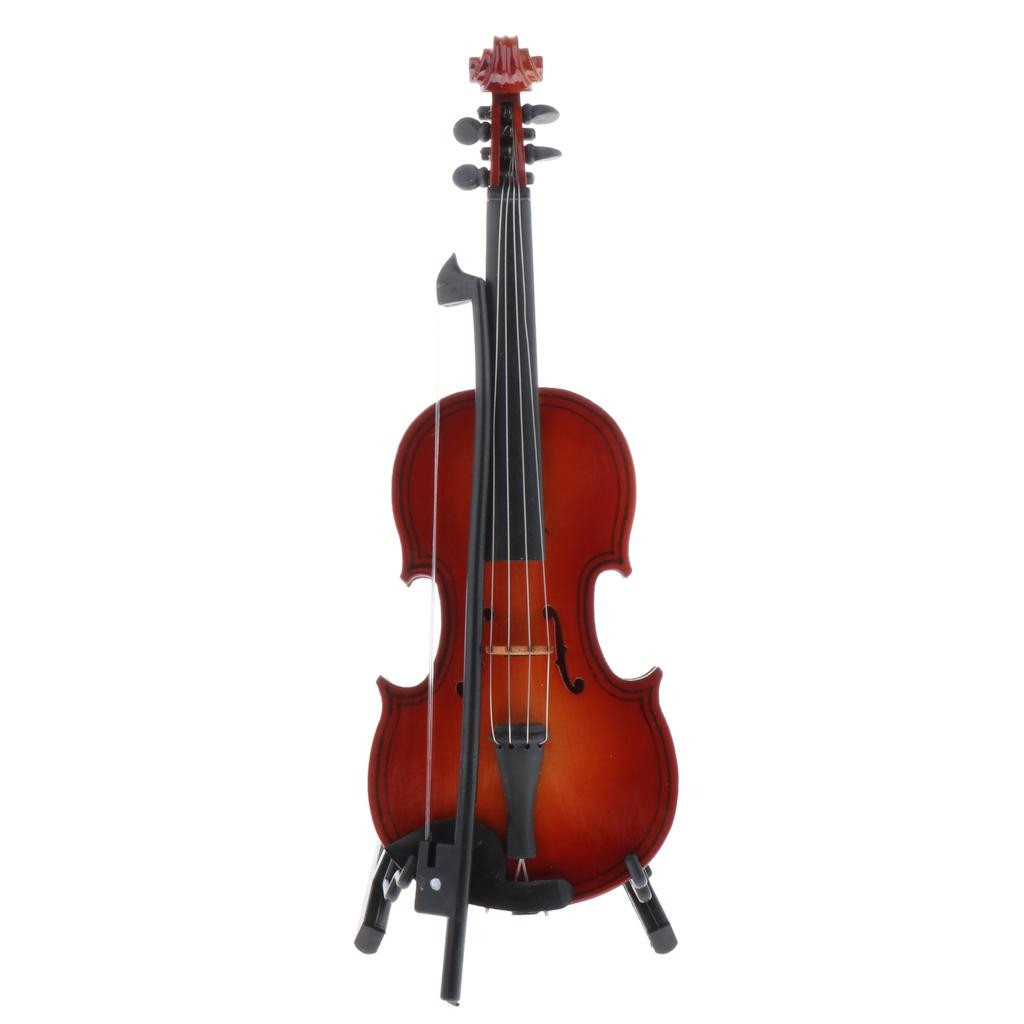 1//6 Dollhouse Wooden Cello Music Instrument for Blythe Licca BJD Dolls Toy