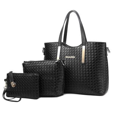 71bcf545f6cb Женщины композитные мешков три кусок наборы моды сумочку для женского ремне  через плечо Сумки