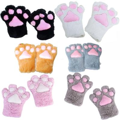 Party Halloween Plush Gloves Cosplay Costume Cat Kitten Paw Buy At A