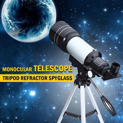 Telescopio HD 90X Zoom Monocular with Tripod 360x50mm Refractive Space Astronomical Telescope Travel Spotting Scope for Outdoor