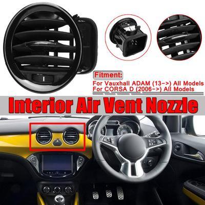 13417363 - For Vauxhall ADAM / CORSA D Black Interior Air Vent