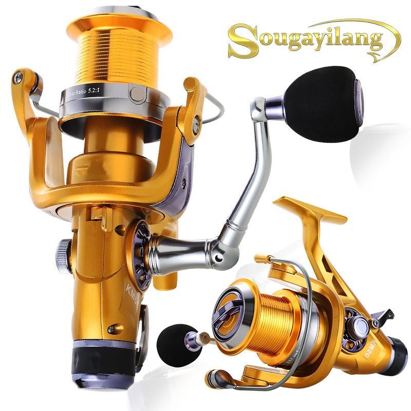 PULLINE Spinning Fishing Reel Right Left Hand High Speed Double Drag Brake
