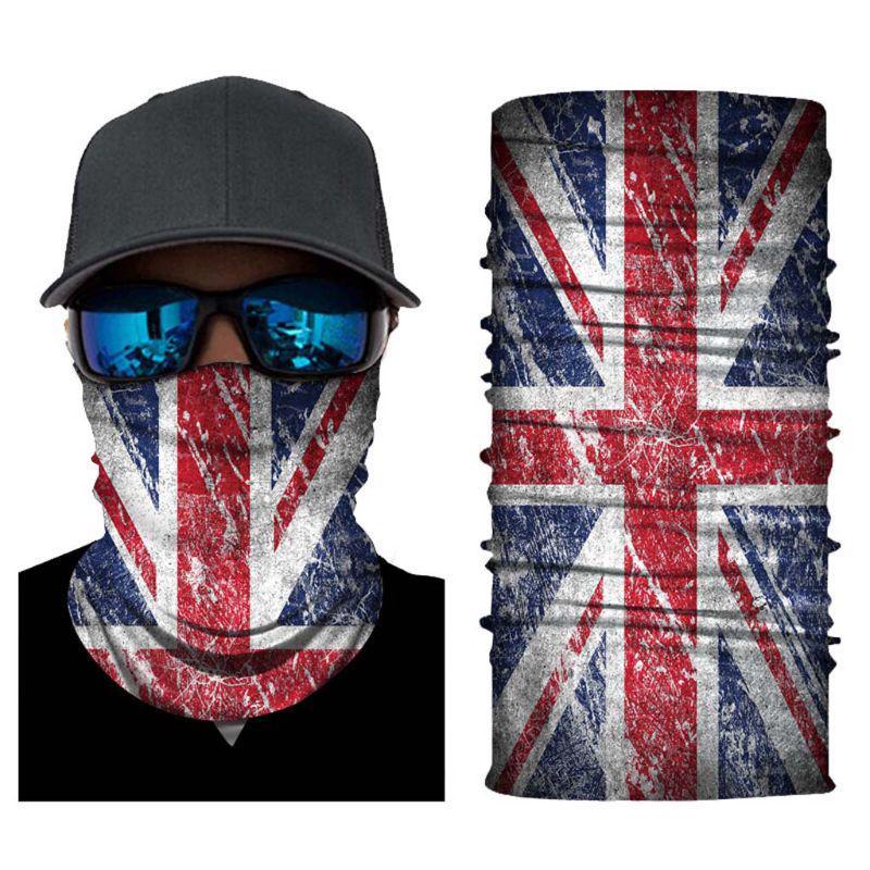 6 Scarf Dustproof Face Cover Outdoor Headband Soft Magic Bandana Durable High Elasticity Uv Protection