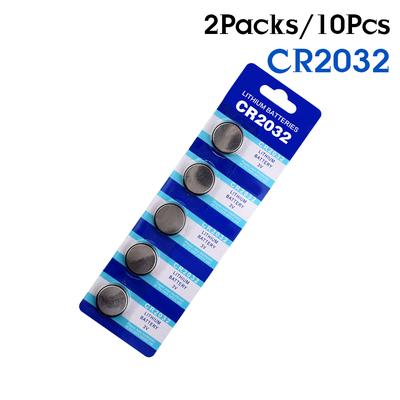10PCS CR2025 CR2032 3V Button Coin Cell Battery Socket Holder Box Case BB