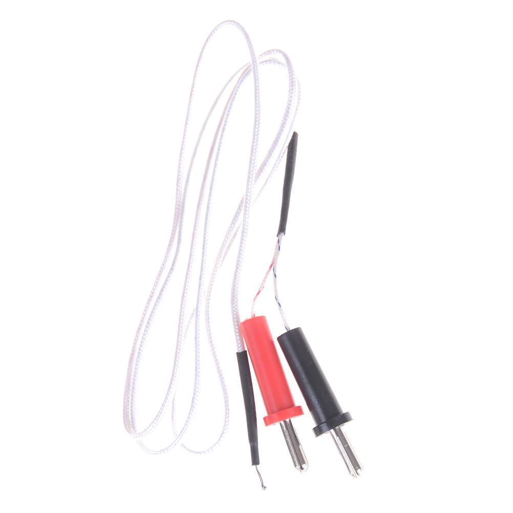 K Type Thermocouple Sensor Multimeter Temperature Probe Banana Plug 1000m..$TCA