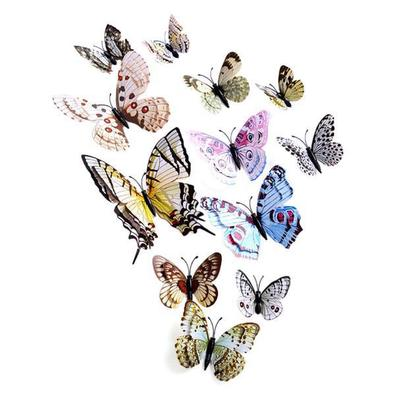 wall stickers: 3d butterfly wall sticker-prices and delivery of