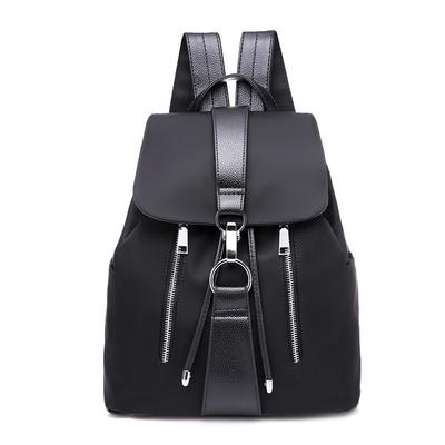 fe34f29e7456 Yogodlns женщин рюкзак опрятный стиль водонепроницаемый обратно сумки  металла кольцо молнии Рюкзаки