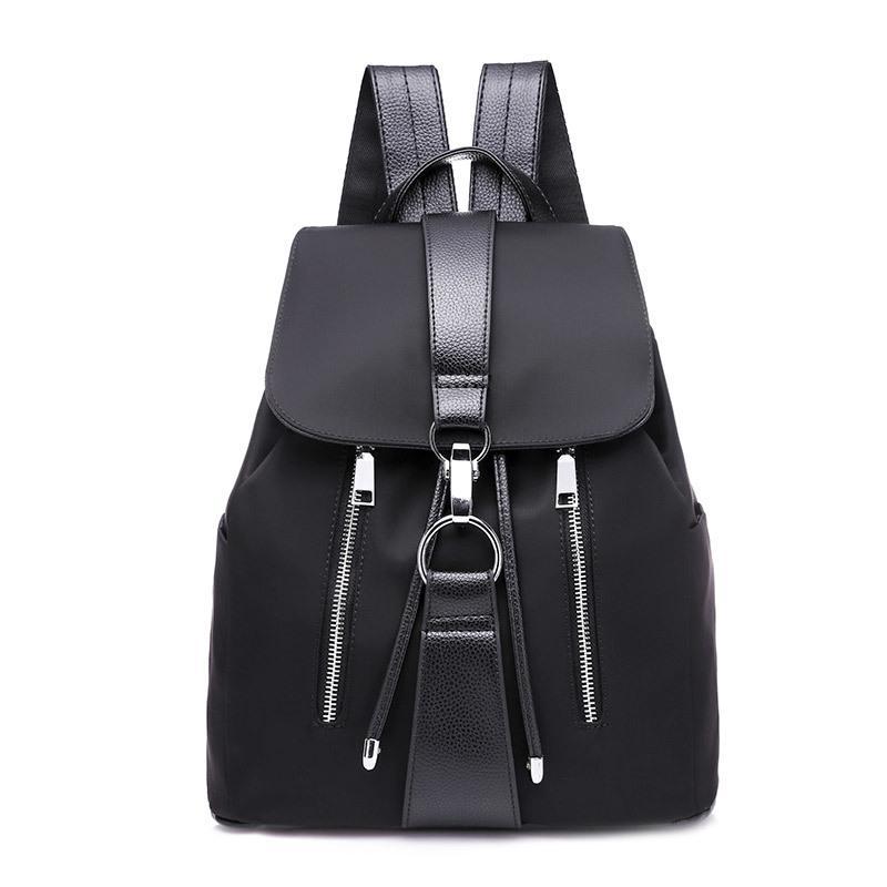 Yogodlns Водонепроницаемый рюкзак. Материал: ПУ. Цвет: черный – купить по низким ценам в интернет-магазине Joom