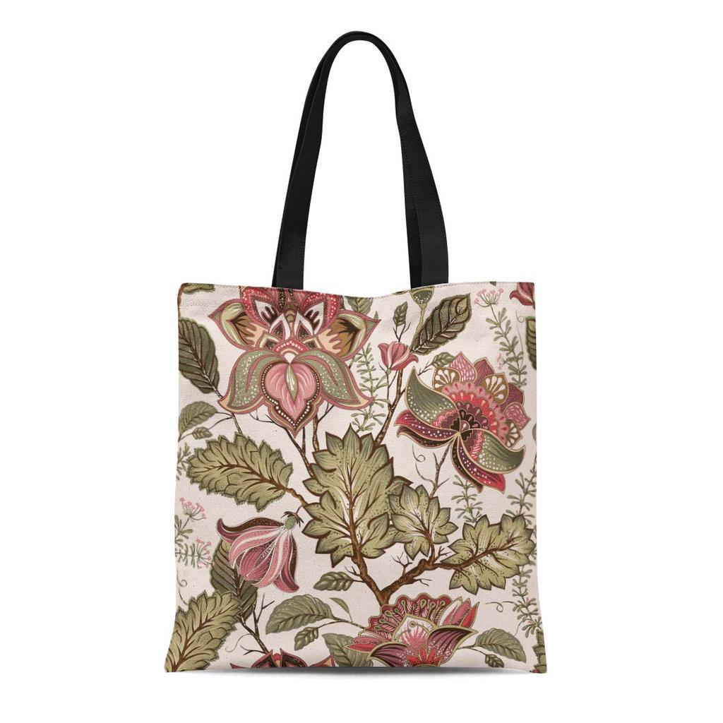 Tote bag vintage flowers