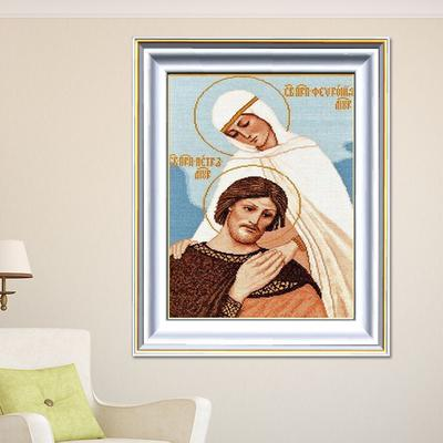 3ebb300cc8a 5D patrón diamante bordado bricolaje religioso diamante pintura taladro  completo de diamantes de imitación pintura Decor