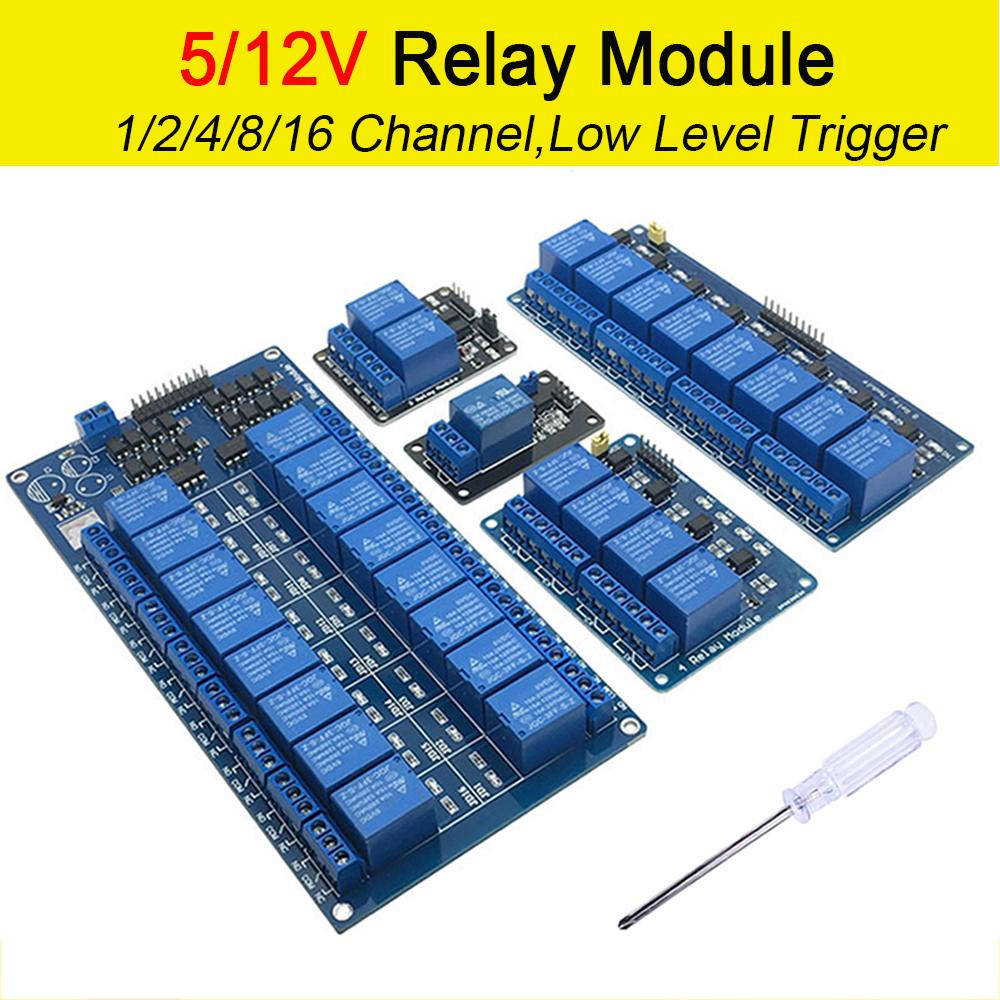 16 Channel 5V 12V Relay Board Module for Arduino Raspberry Pi ARM AVR DSP