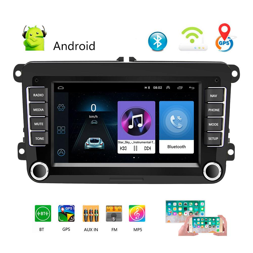 Android 2din Car Stereo Radio 7 Tft Touch Screen With Bluetooth Gps Fm Am Radio Receiver For Vw Buy From 179 On Joom E Commerce Platform