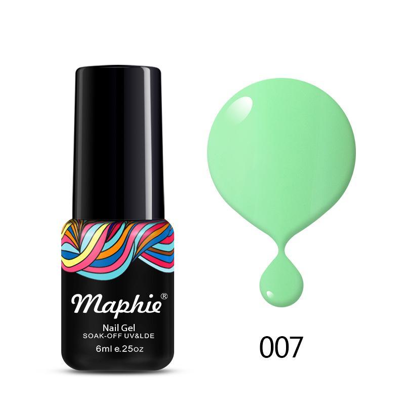 Diseño de salón de uñas brillo 78 colores Soak off UV Gel de uñas ...