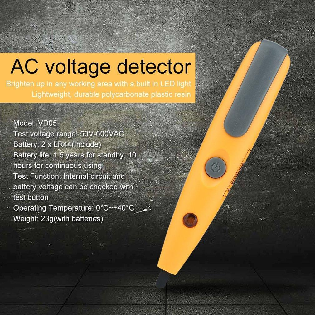Voltage Detector Pen Vd05 Probe Tool With Sound And Light Details About Ac 90v To 1000v Electrical Live Circuit 2 Of 8