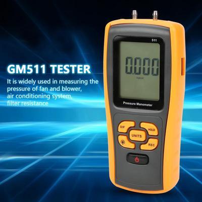 GM520 Portable Digital LCD Display Pressure Manometer 150kPa