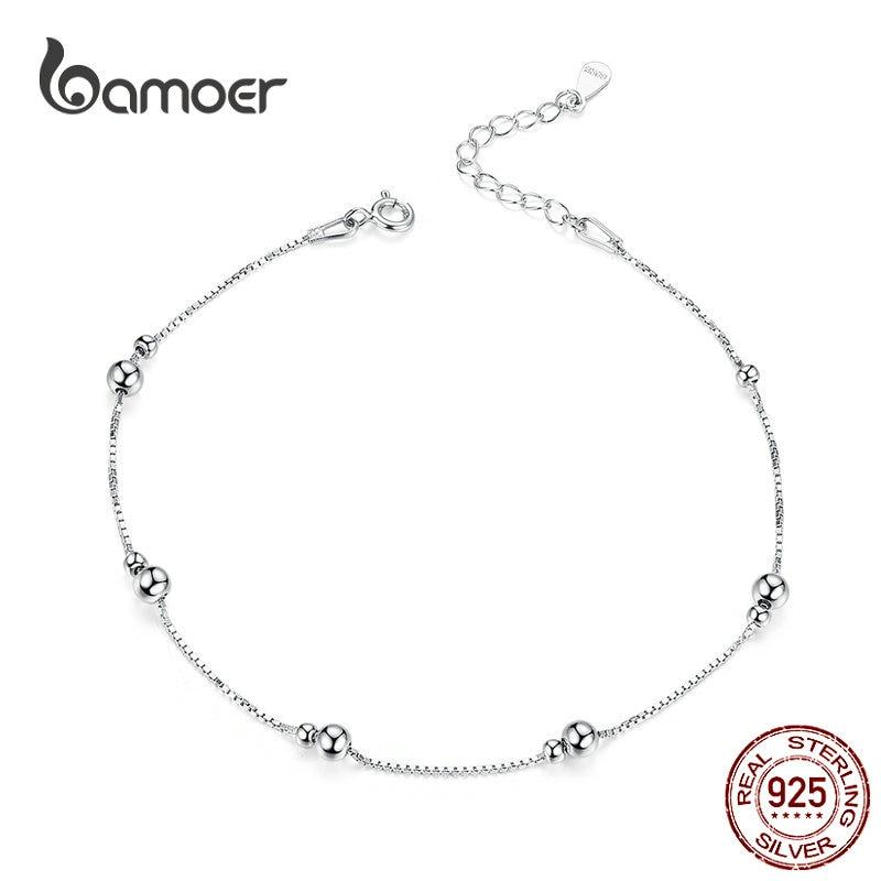 Foot chain Chain anklet Anklet Tiny fish charms anklet Silver foot jewelry ALS Sterling silver charms anklet