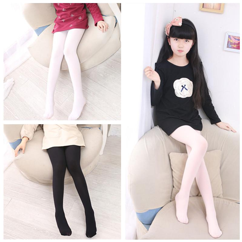 1Pcs Kids Girls Ballet Dance Stockings Candy Tights Pantyhose Opaque Hosiery New