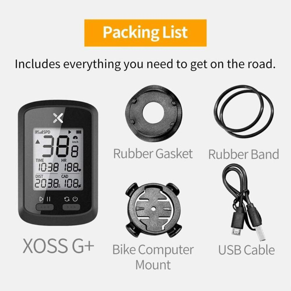 XOSS G GPS Waterproof Bicycle Speedometer Bike Meter Computer Odometer LCD